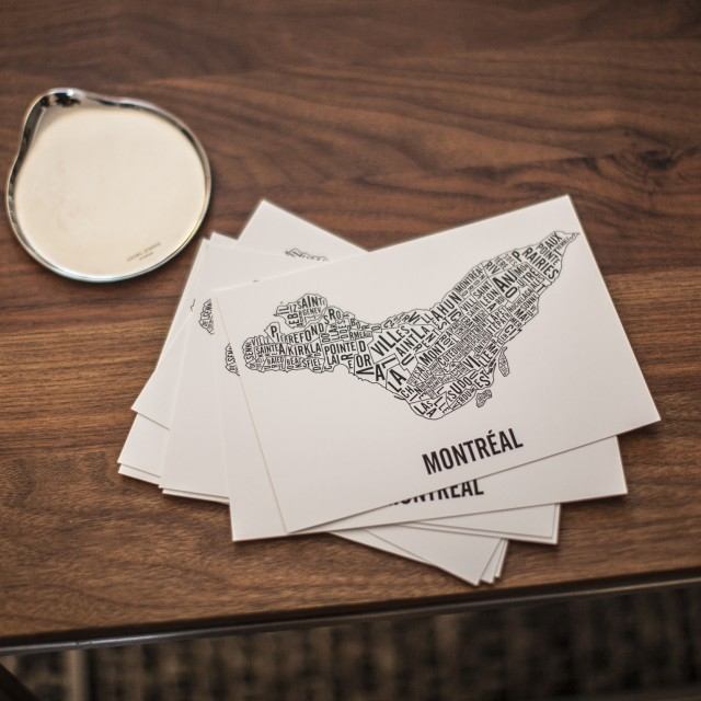 Postcards of Montreal Neighbourhoods