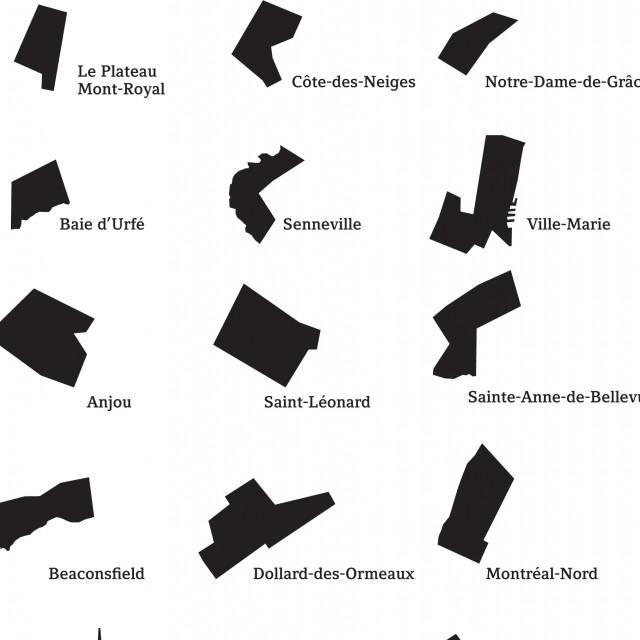 Encyclopedic List of Montreal Island