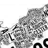 Typographic Map of Ottawa