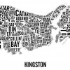 Kingston Neighbourhoods City Map