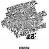 London (Ontario) Neighbourhoods City Map