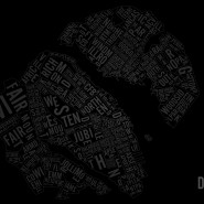 Wallpaper of the Typographic Map of Halifax-Dartmouth