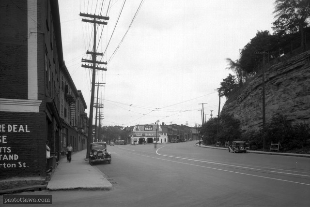 Former Intersection of Sparks and Wellington 1938