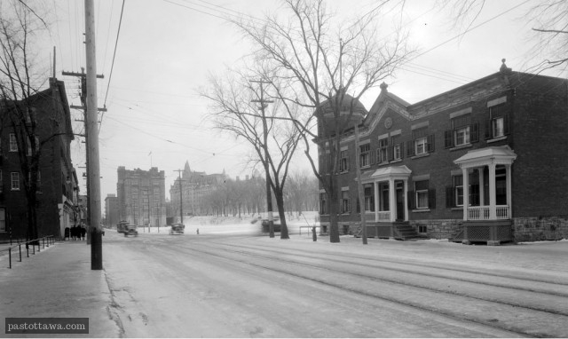 Corner of Sussex and St-Patrick in 1940