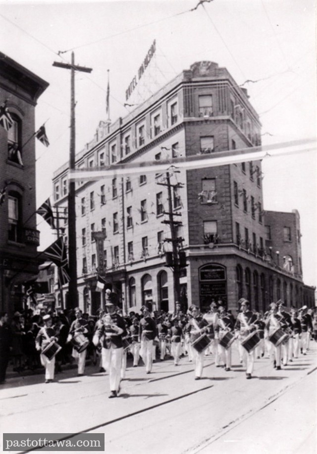 L'hôtel Windsor en 1920