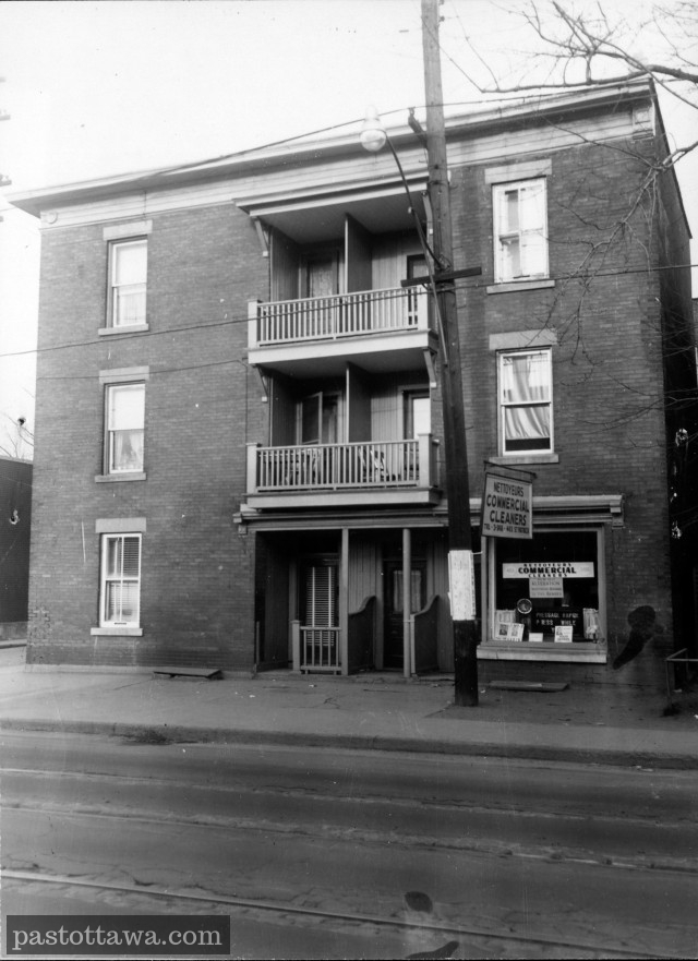 463 St-Patrick Street in Ottawa around 1950
