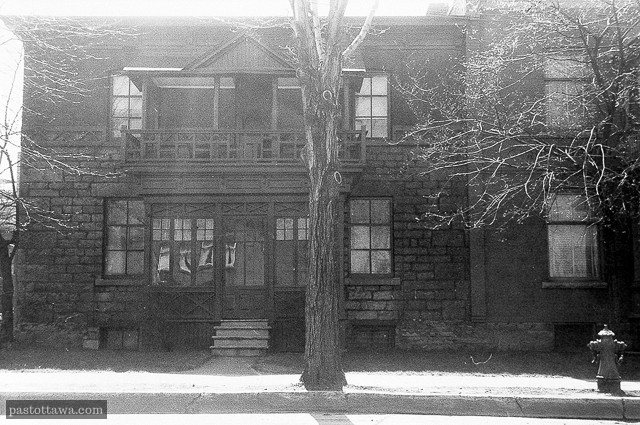 594 Wellington Street at Lebreton Flats in Ottawa in 1962