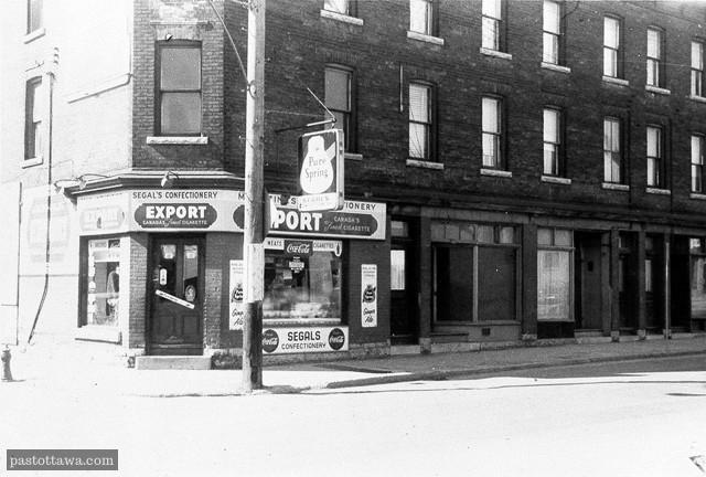 72-74 rue Fleet, Plaines Lebreton, Ottawa en 1962
