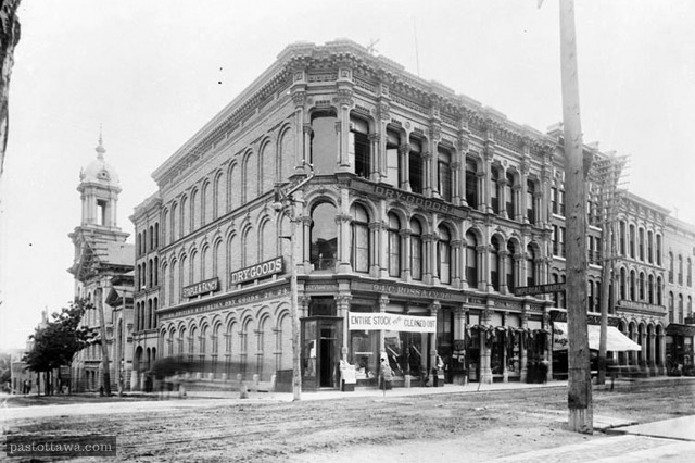 94-96 Spakrs Street in 1889
