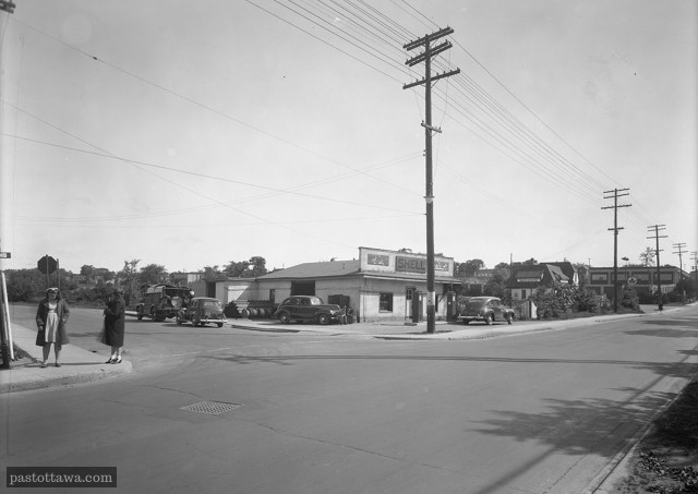 Booth and Carling Intersection 1938