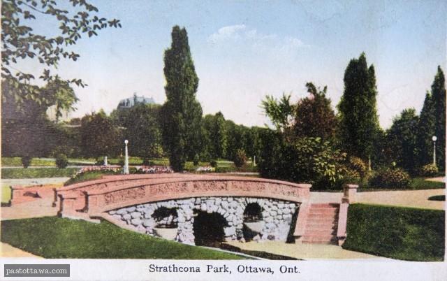 Ancien pont au parc Strathcona