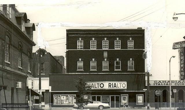 Cinéma Rialto sur Bank à Ottawa
