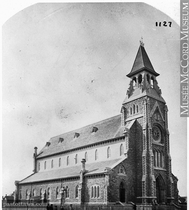 St. Patrick Basilica around 1880