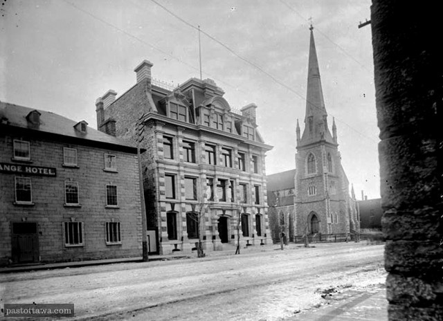 St-Andrew Church in 1900