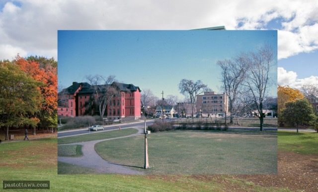 Wallis House in 1968.