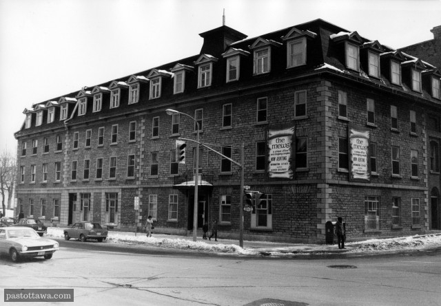 Former convent at the corner of Rideau Street and Waller Street