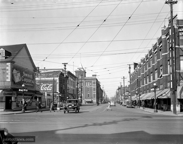 Dalhousie street looking north at Rideau Street.