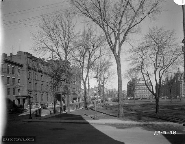 Elgin street in 1938