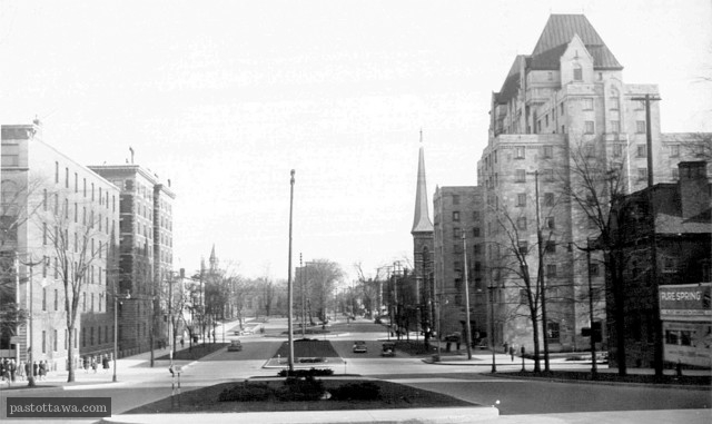 Elgin Street in 1940