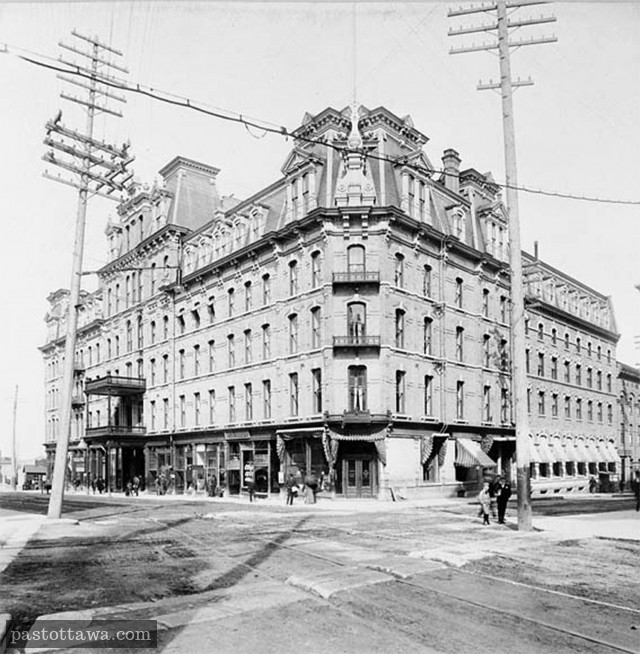 Russell House on Sparks in 1882