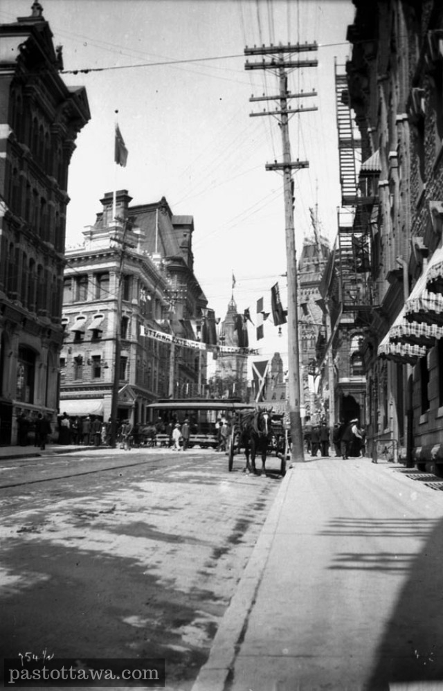 Elgin Street in 1900