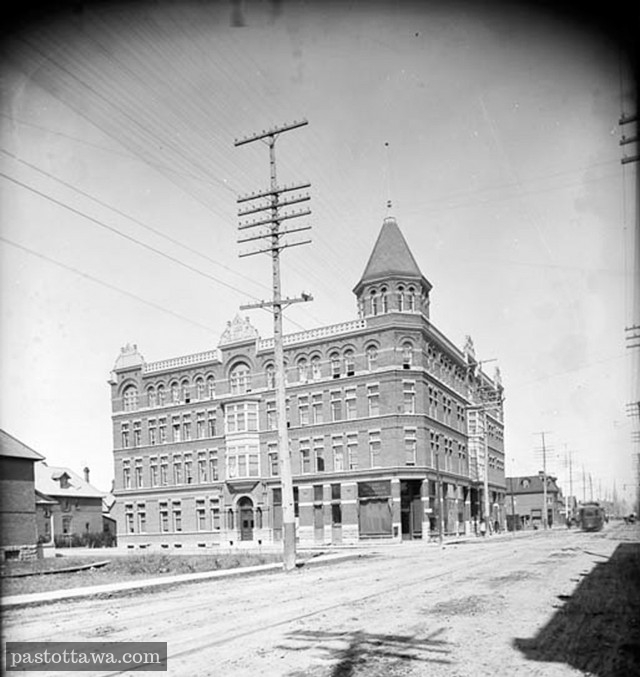 Gilmour House at Bank and Gilmour