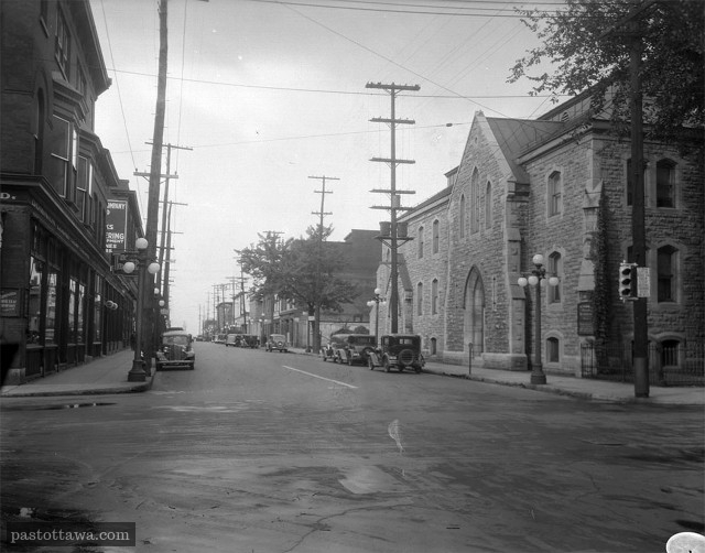 Intersection of Sparks and Kent in 1938
