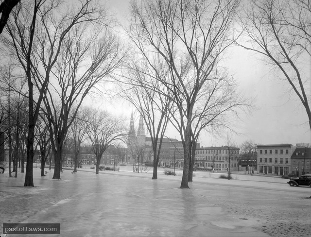 Major Hill Park in Ottawa in 1938