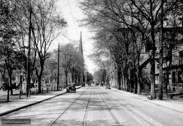 Marie Street around 1900 in Ottawa