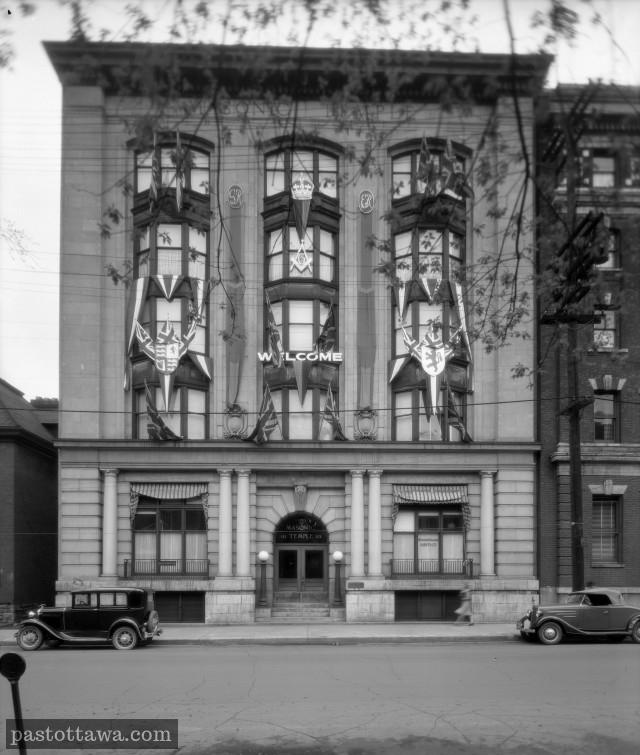 Le Masonic Temple au 113 Metcalfe à Ottawa