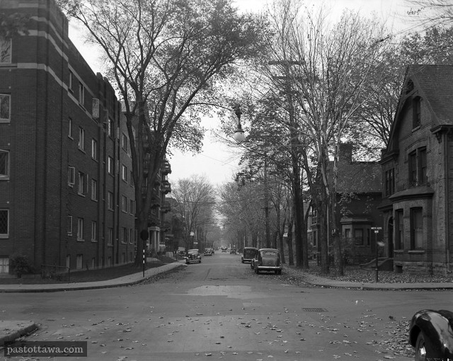 Cooper Street at Metcalfe Street in Ottawa in 1938