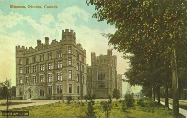 Musée de la Nature à Ottawa en 1900