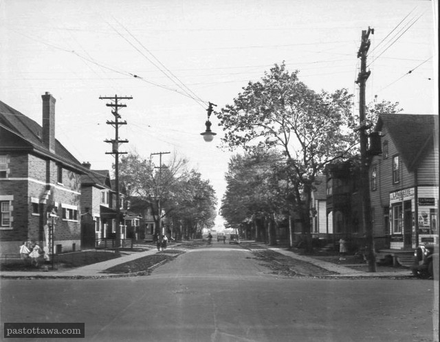 Ancienne Intersection des rues Cumberland et Osgoode