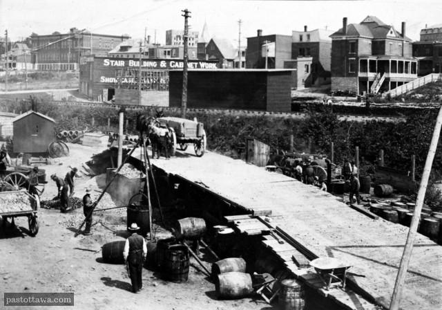 LeBreton Flat in 1900