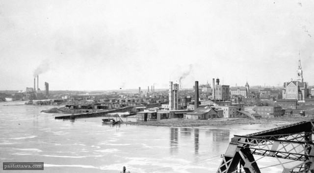 Hull from Nepean Point in 1910