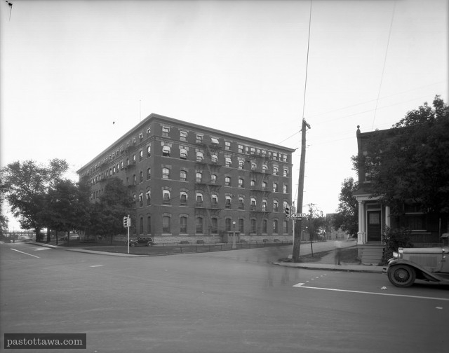 Ancienne imprimerie nationale sur la rue St-Partick à Ottawa