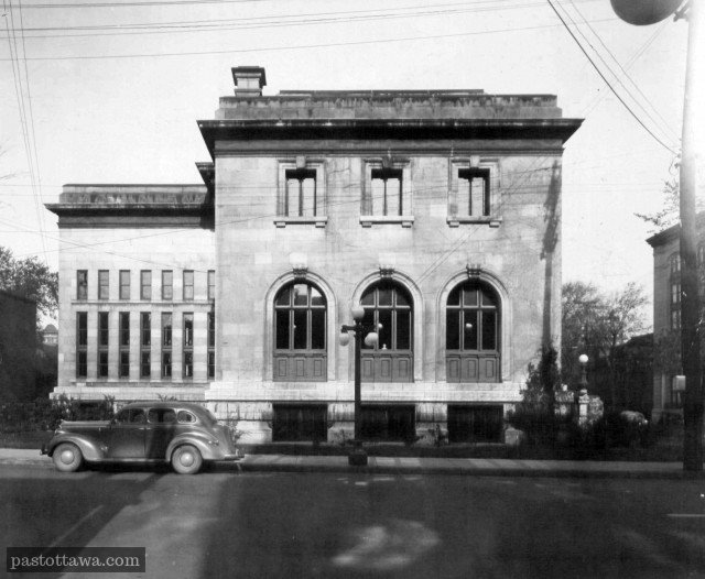 Ottawa Public Library around 1939