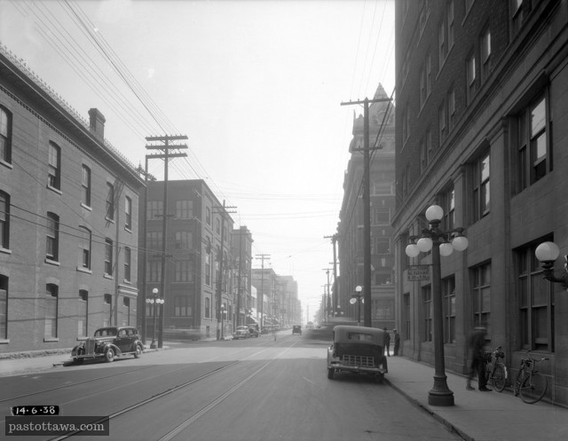 Queen Street looking East at O'Connor in 1938