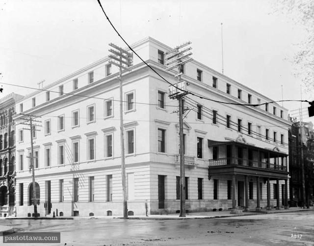Ancien Rideau Club sur Wellington à Ottawa