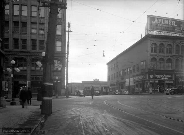 Ancienne Intersection Rideau et Sussex