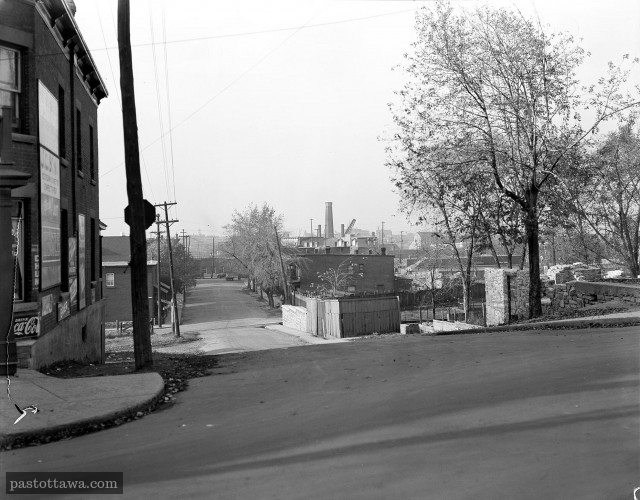 Albert street in the Lebreton Flats District in 1938