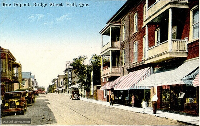 DuPont Street in Hull in 1920