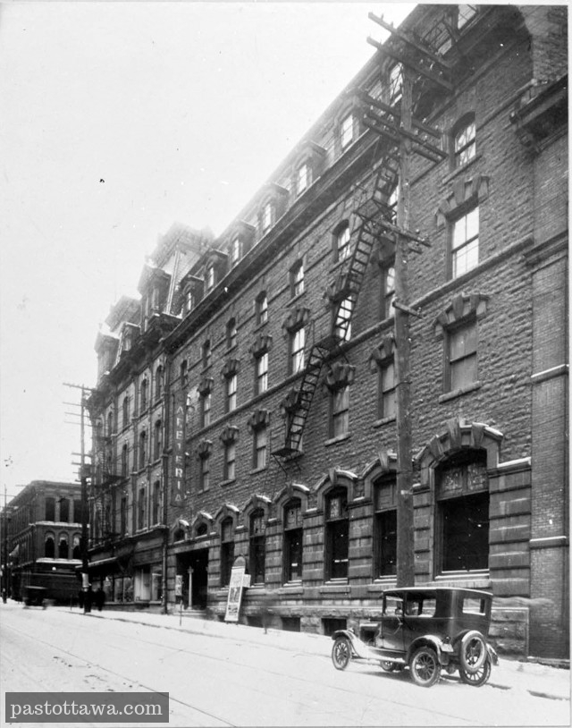 Russell House and Elgin street in Ottawa