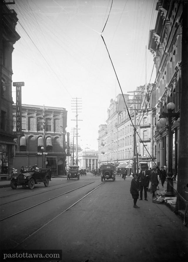 Sparks Street in 1900