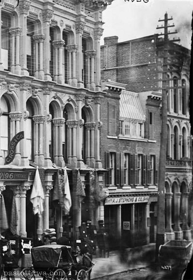 Sparks Street in 1905
