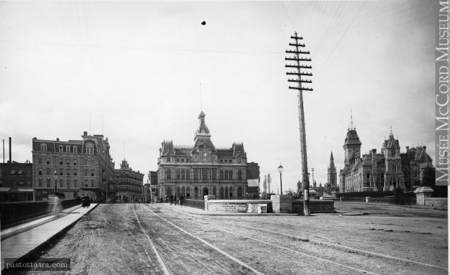 Ancien bureau de poste au nord de la rue Elgin
