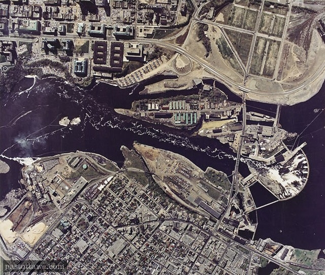 Aerial View of Hull-Ottawa