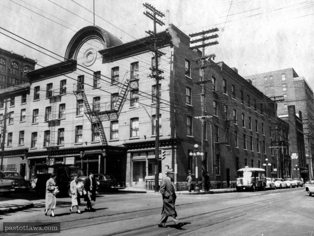 Windsor Hotel in Ottawa around 1950.