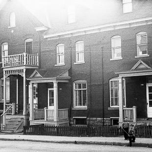 le 112 rue Sherwood aux plaines Lebreton, Ottawa