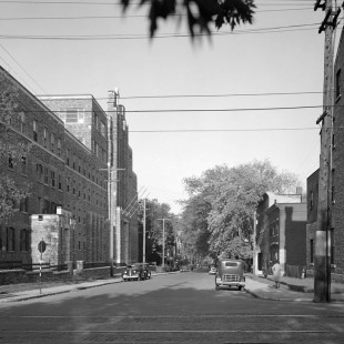 Bruyère street near Sussex Drive in 1938